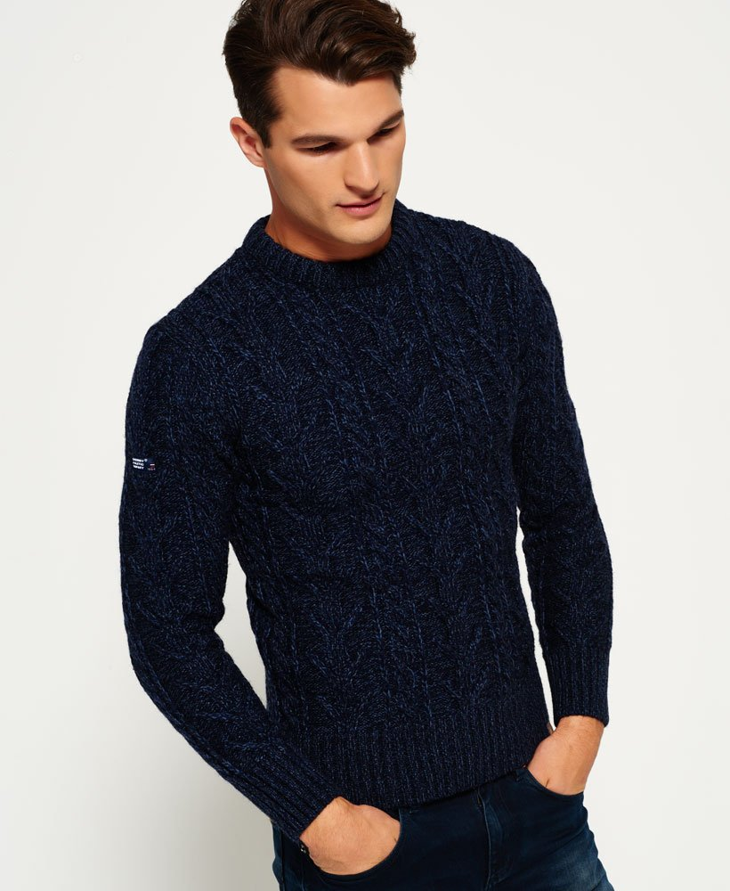 Superdry Pull à col rond Jacob Heritage Pulls pour Homme