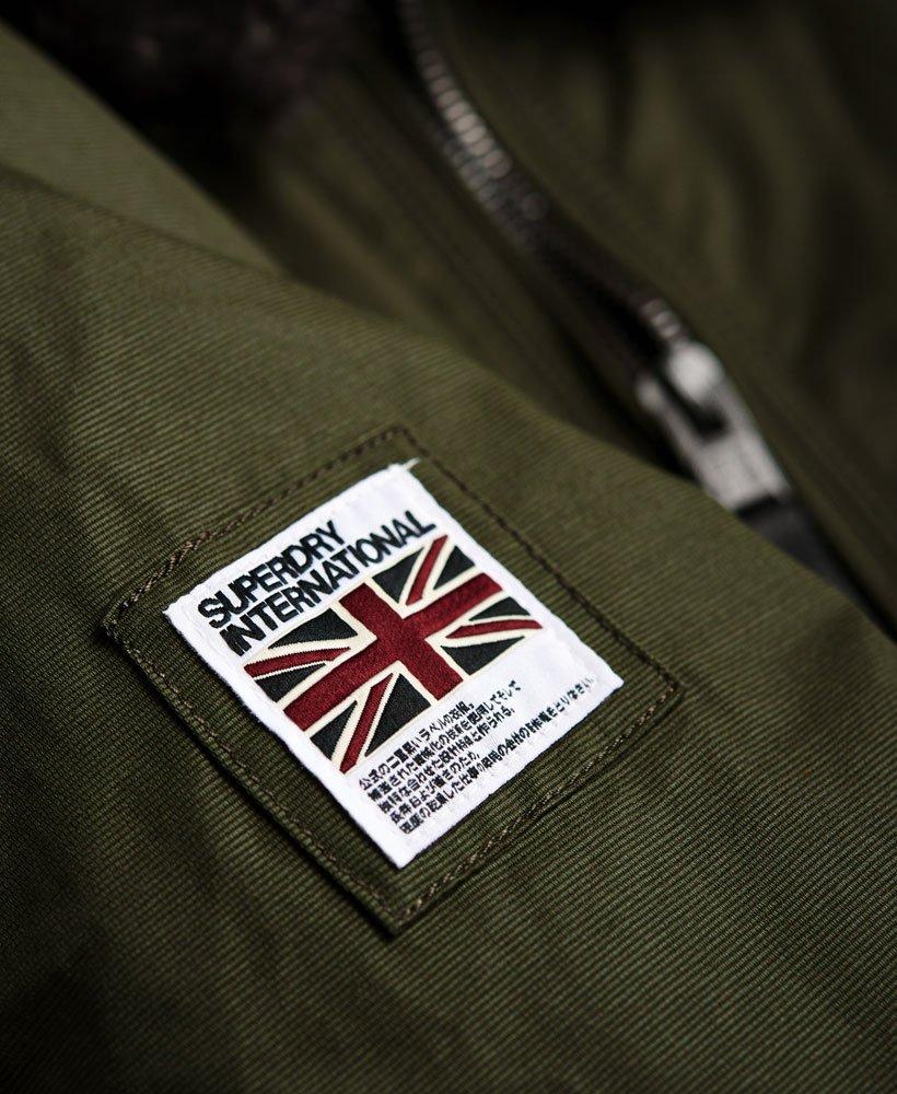 New Mens Superdry SDR Winter Flite Jacket Deep Khaki