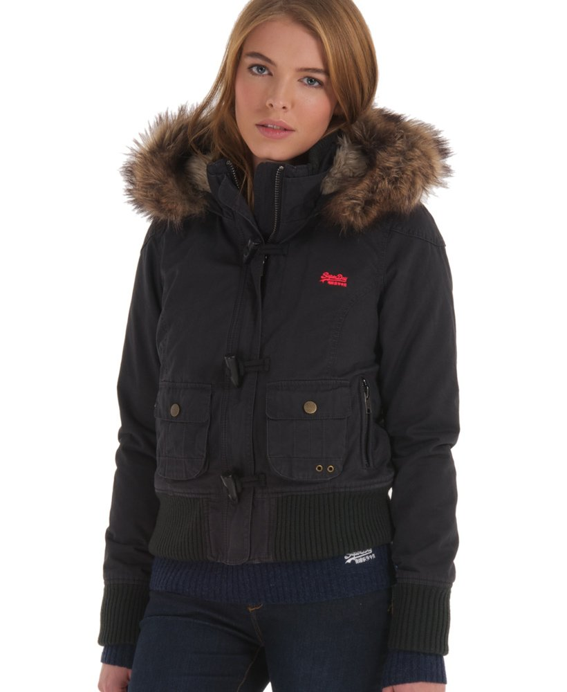 newest a3ab3 42212 Giacca montgomery Study da Donna Superdry