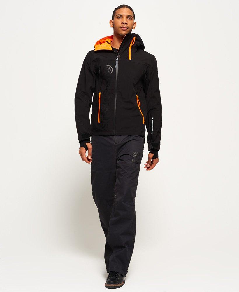 23a1415b Mens - Base Jumper Jacket in Black | Superdry