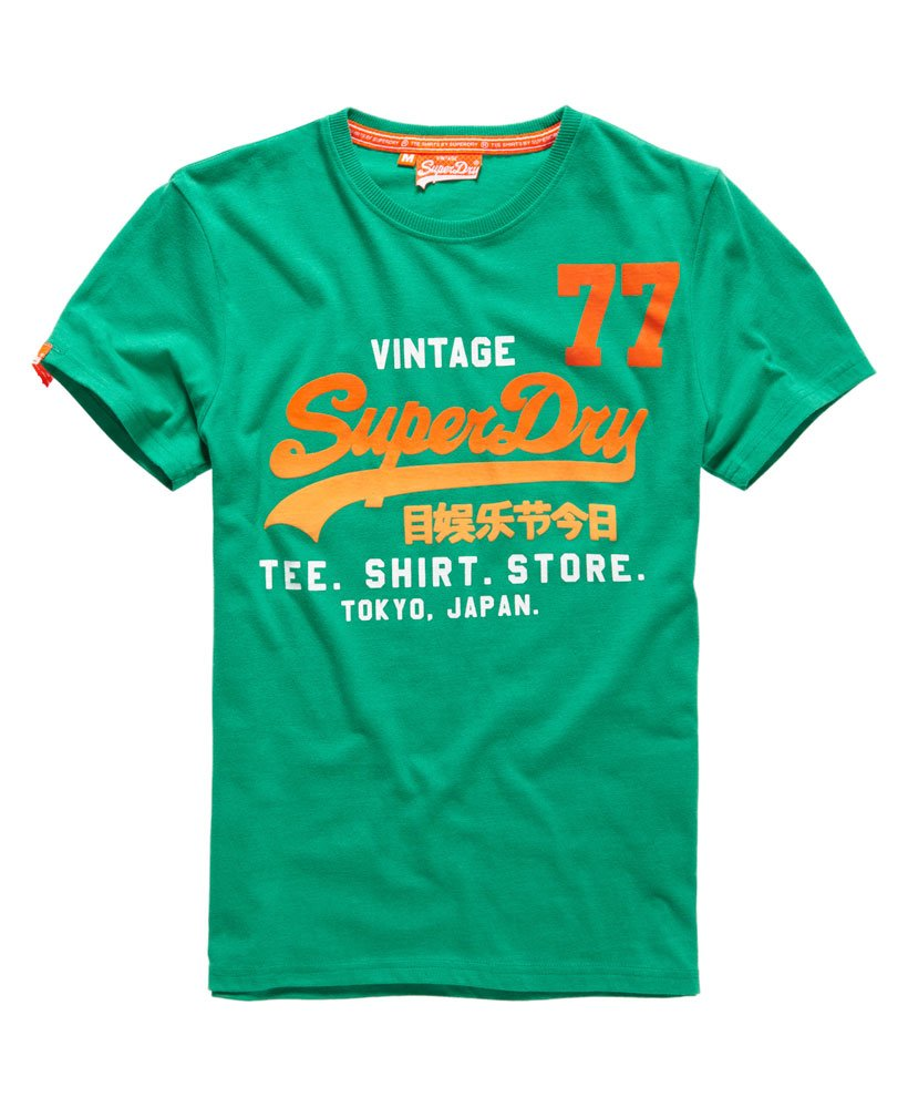 Superdry Shirt Shop 77 T shirt Herrer T shirts