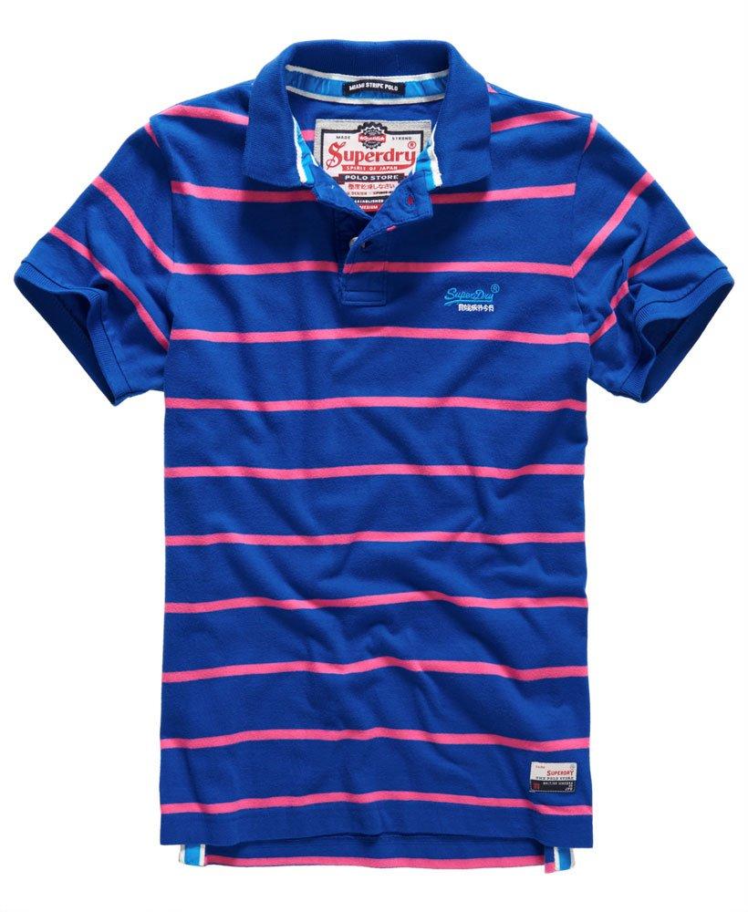 Superdry Damen Stripe Polo Shirt Poloshirt