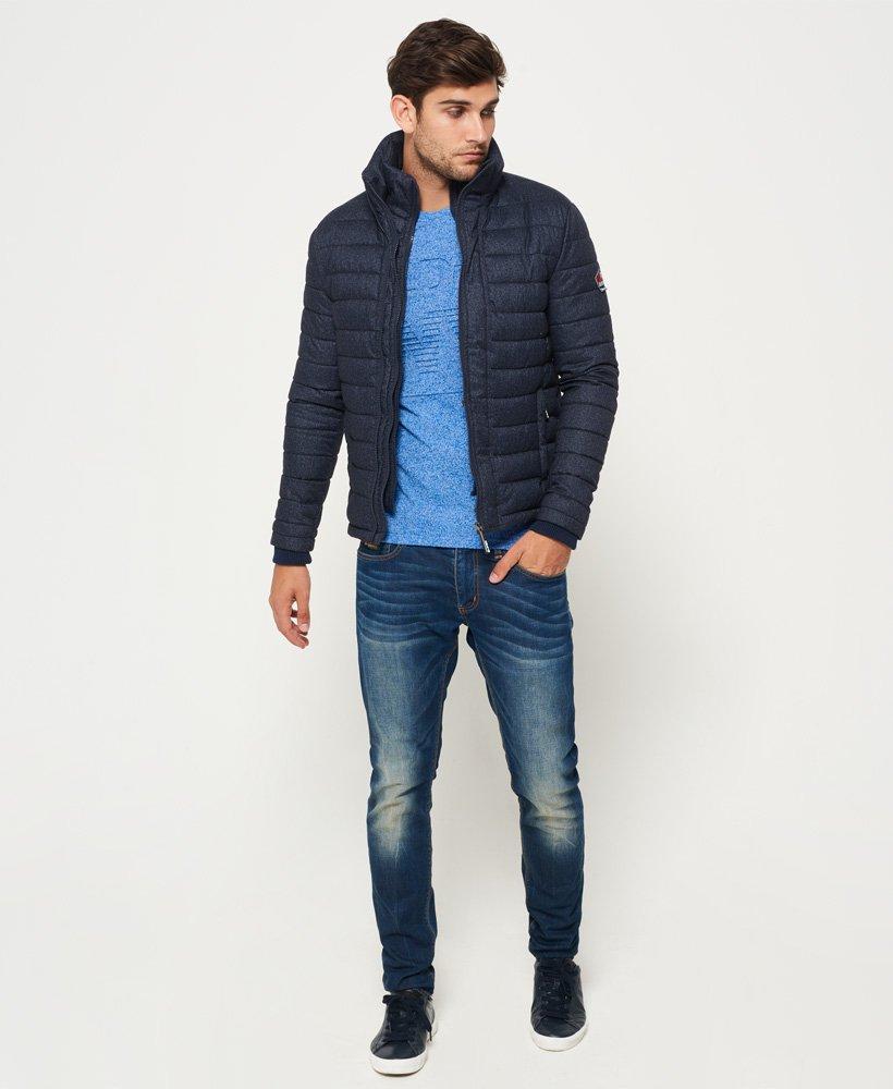 Superdry Veste en tweed à triple zip Fuji Vestes pour Homme