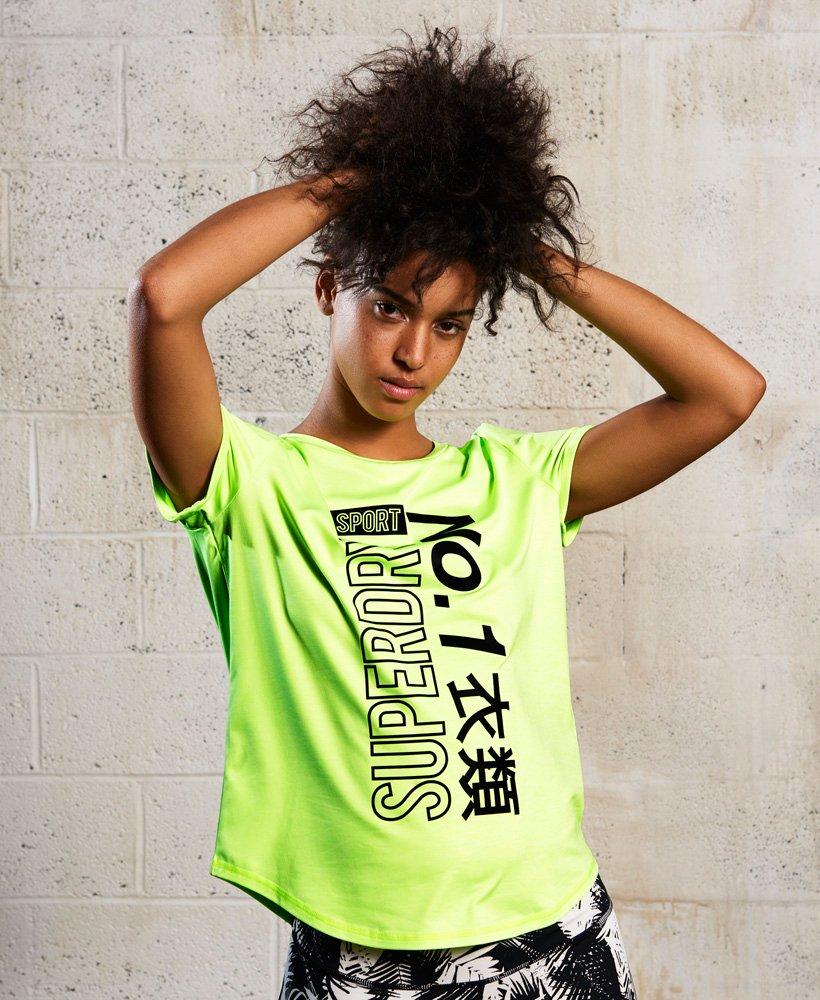 Superdry T-shirt Sport Fitspo thumbnail 1