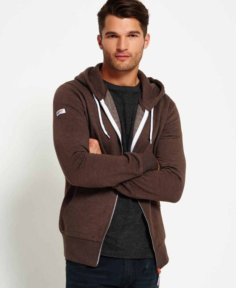 Superdry LA Athletic hoodie met rits Hoodies voor Heren