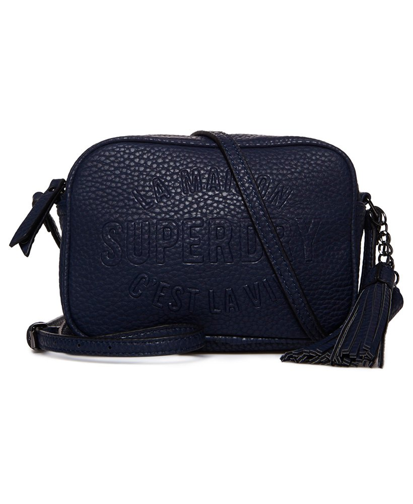 c3f00f940 Womens - Delwen Cross Body Bag in Navy | Superdry