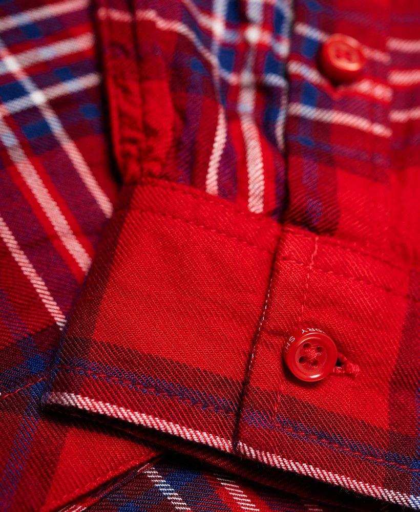 Superdry Midwest Dreaming Buffalo rutet skjorte Dame Skjorter