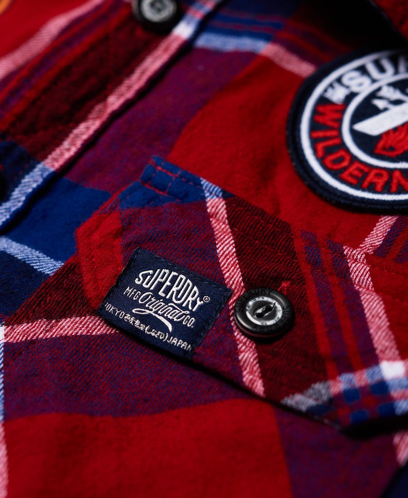 Superdry Lumberjack Patched Shirt   £49.99   Westquay