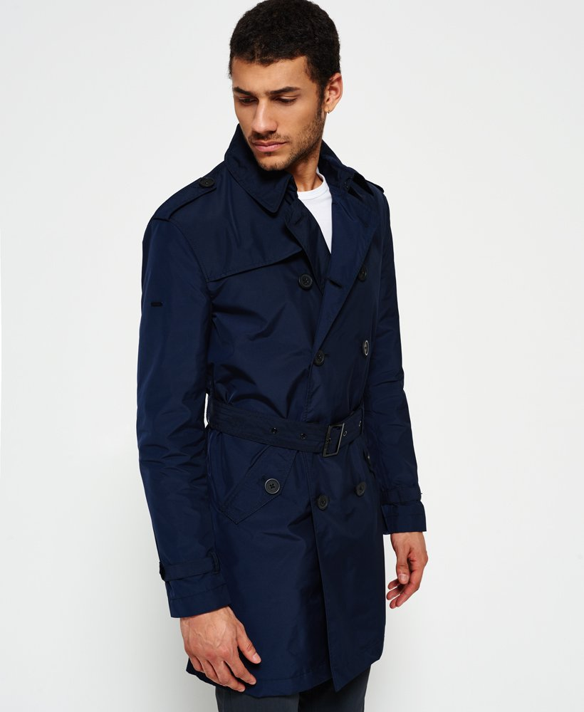Superdry IE Rain Trench Coat