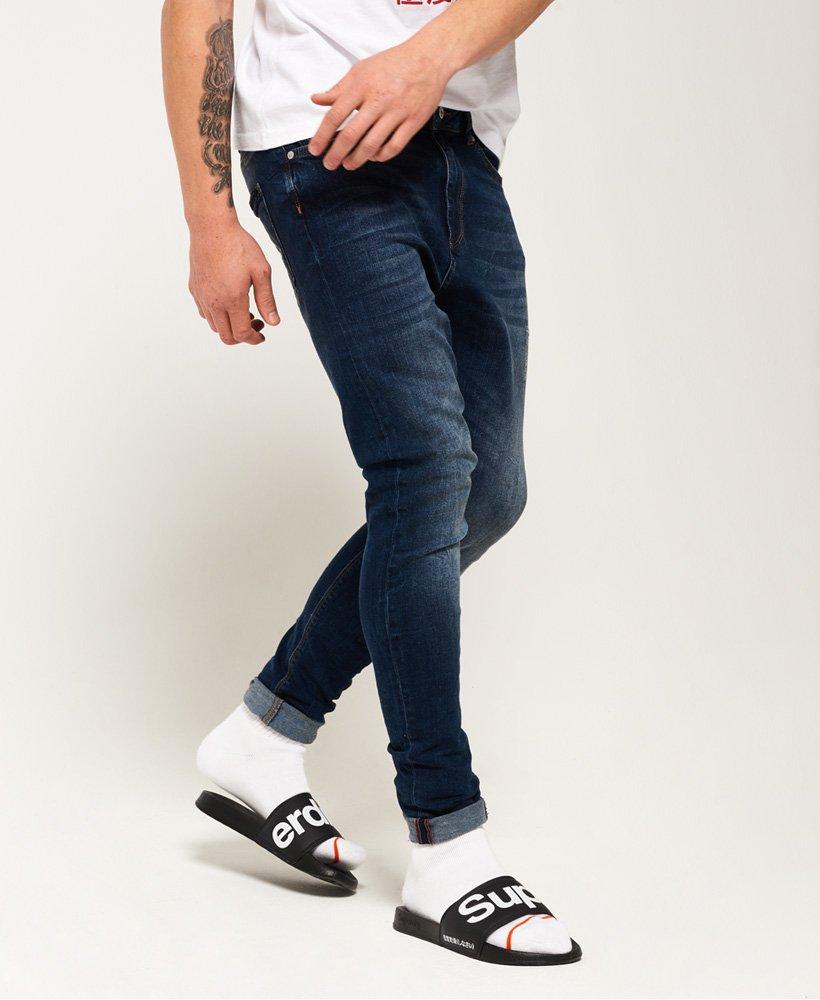 superdry mens skinny jeans gray mist