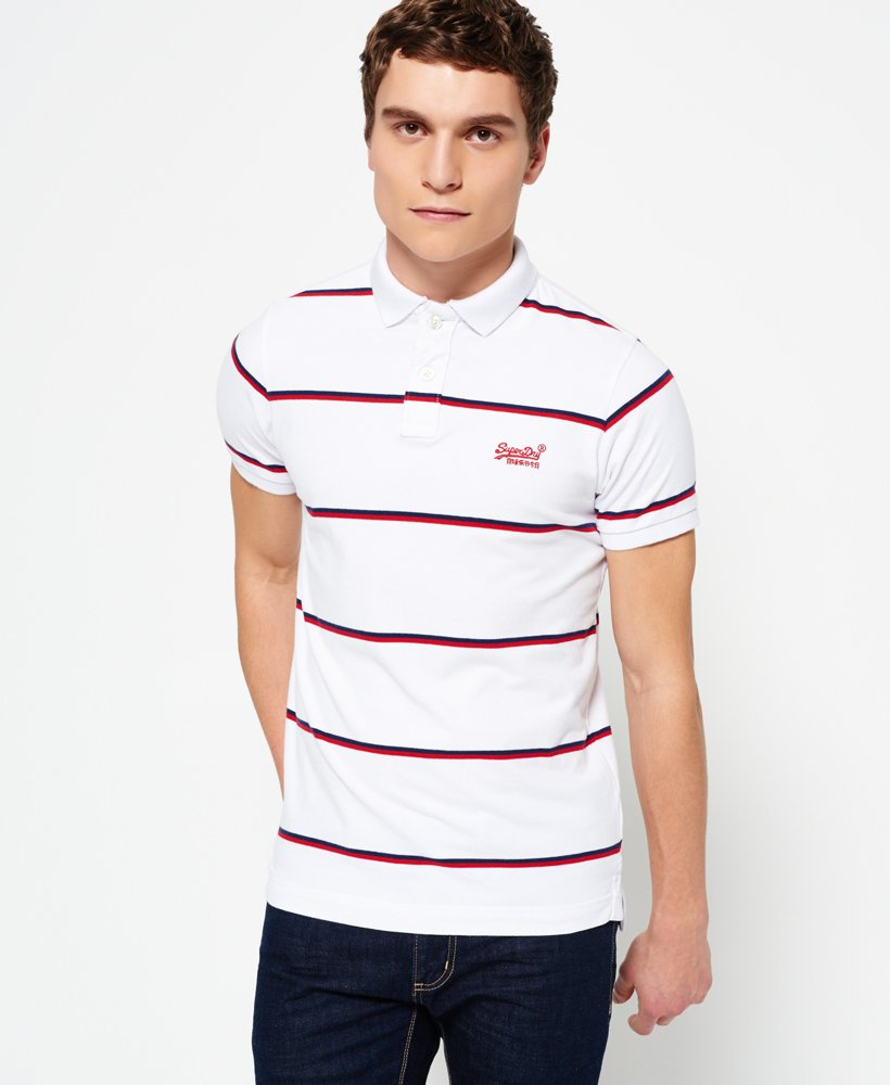 Superdry Echo Beach YD Stripe Polo-Shirt