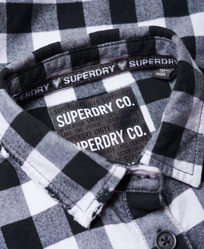 Superdry Chemise à carreaux nouée sur le devant Zephyr
