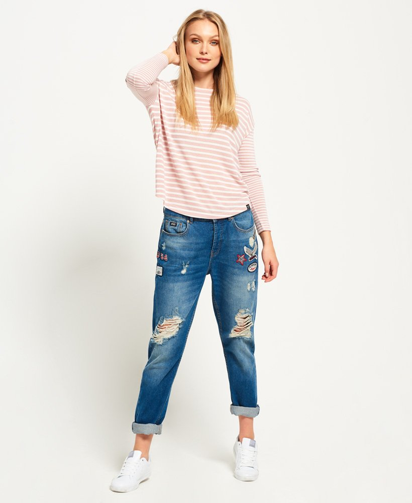 Superdry Parisian Slouch Top thumbnail 1