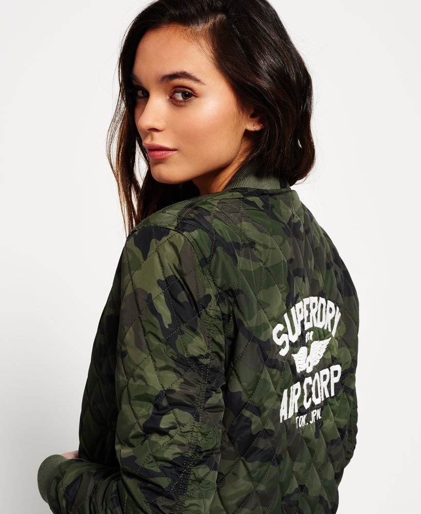 d200baf261d46 Womens - SD-1 Bomber Jacket in Camo | Superdry