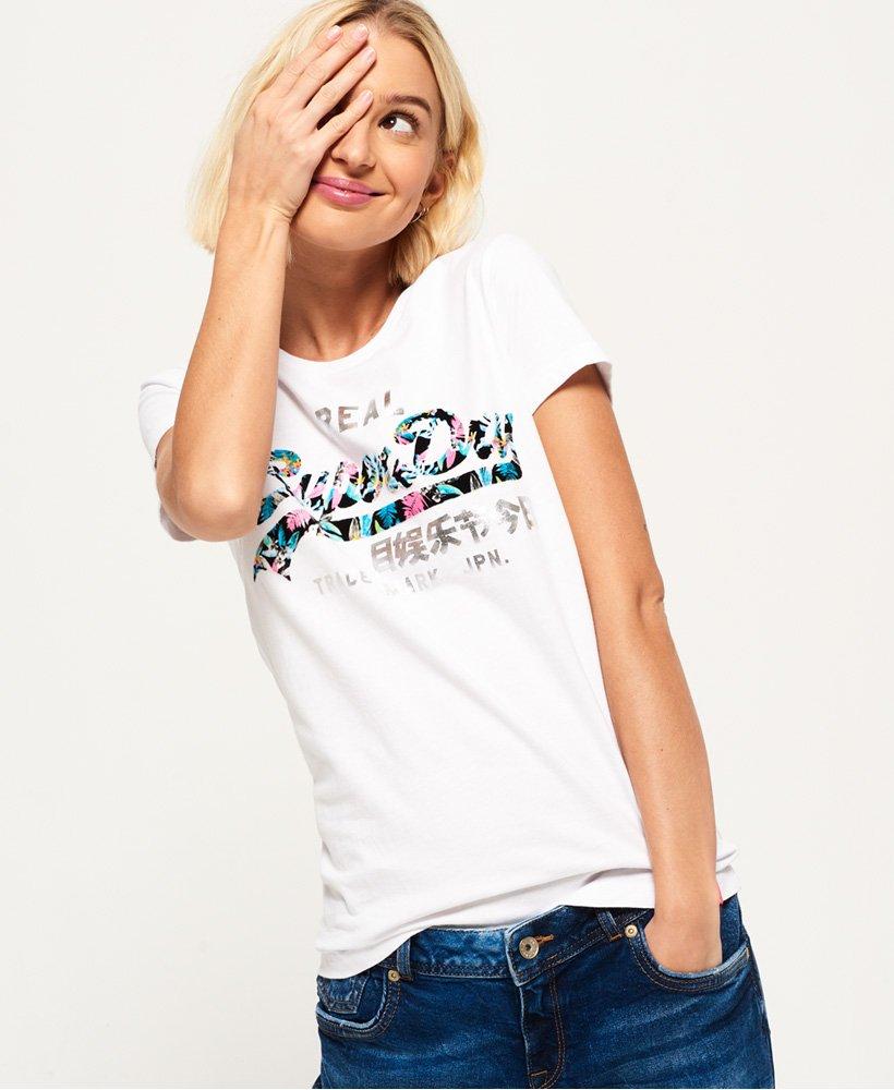 sports shoes dde41 3ab15 Superdry Vintage Logo Infill T-Shirt - Damen T-Shirts