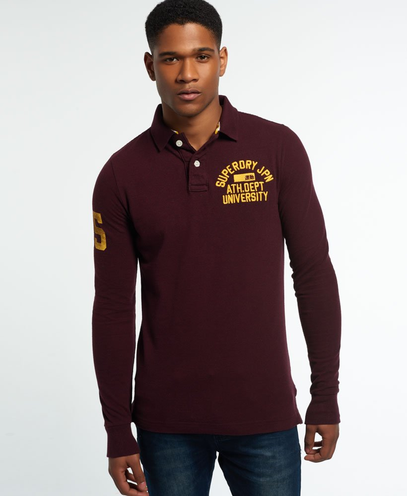 Superdry Super State Langarm-Polohemd