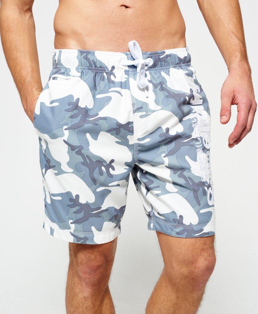 Superdry Premium Neo Camo Swim Shorts - Mens Swimwear ca24b8500
