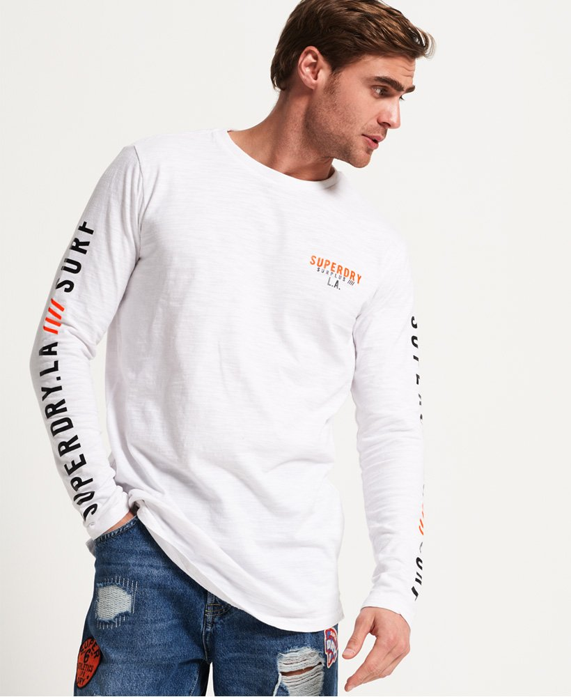 Superdry Surplus Goods Longline Top thumbnail 1