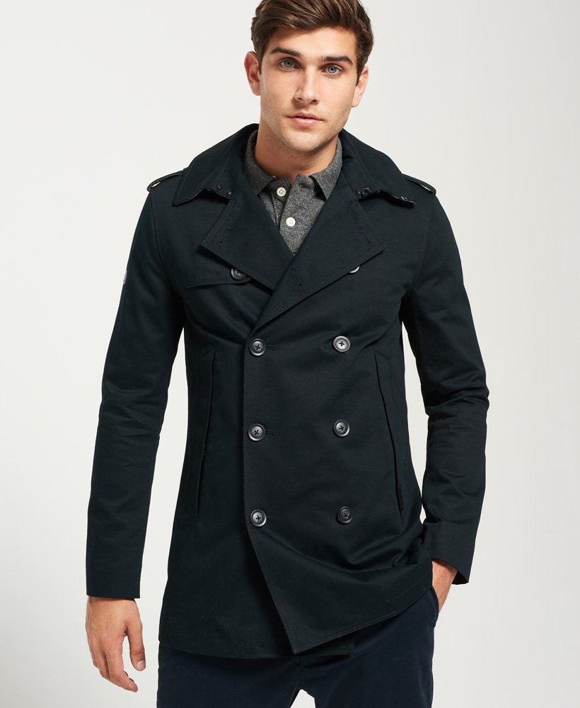 Superdry Remastered Rogue Trench Coat Men's Jackets