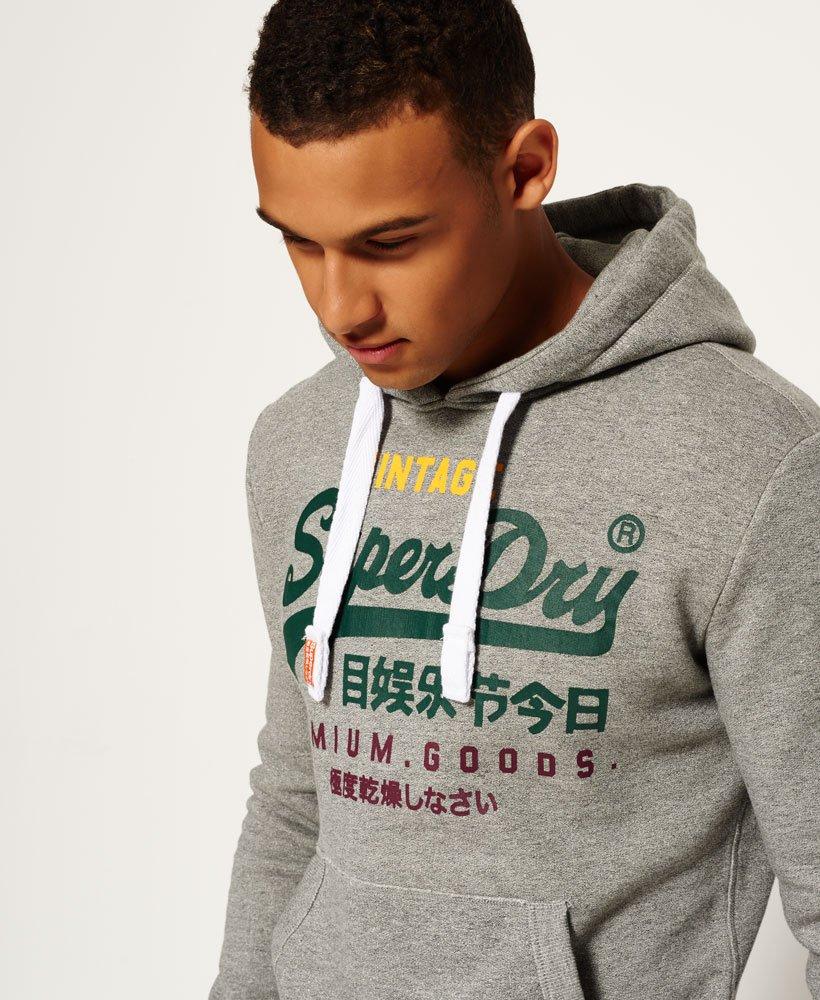 Superdry Sweat à capuche tricolore Premium Goods Sweats