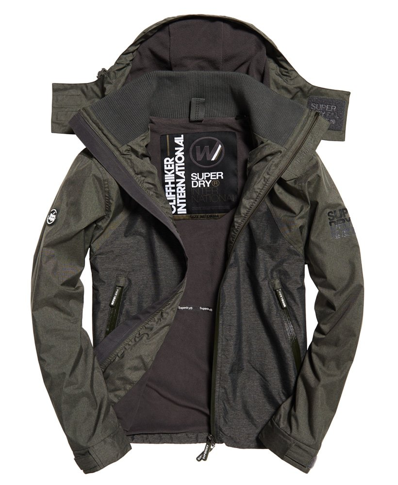 Superdry Arctic Hooded Cliff Hiker Hybrid jas