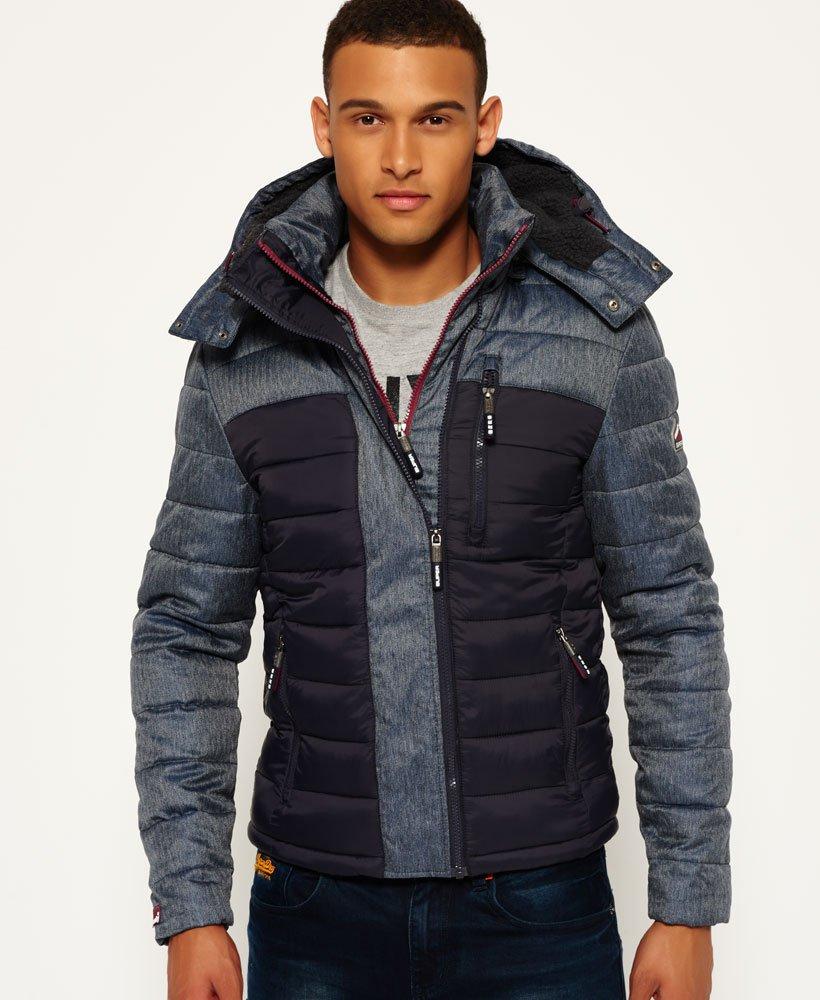 9f723df51b74 Superdry - Veste à capuche et double zip Fuji Mix - Vestes pour Homme