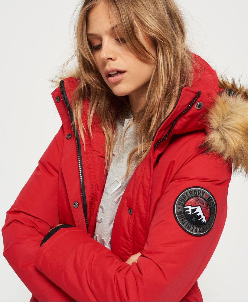 Superdry jacke ashley everest
