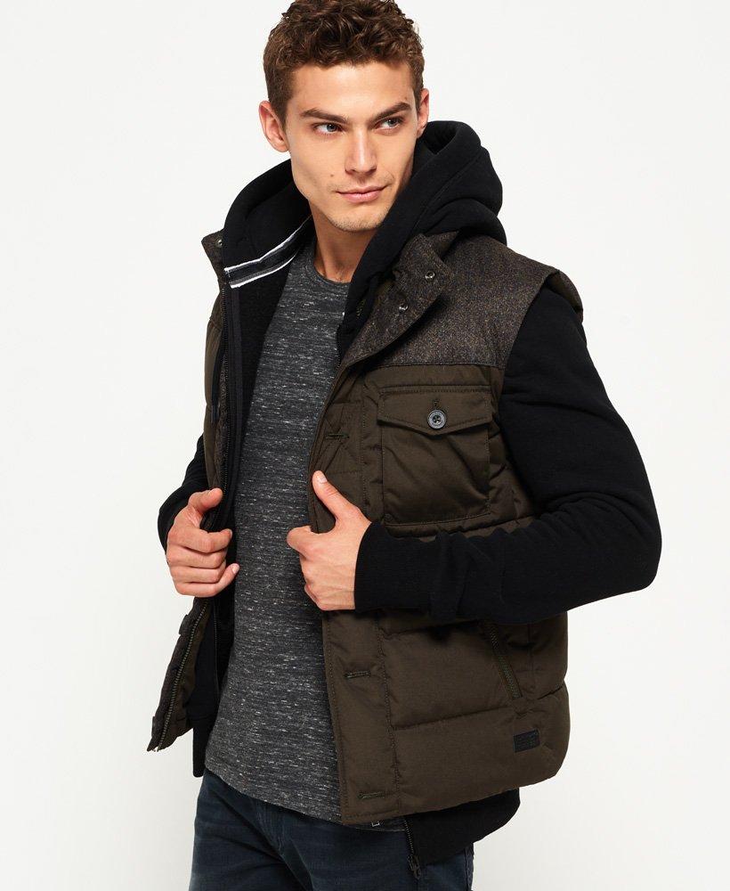Superdry Veste en tweed Tech Vestes et manteaux pour Homme