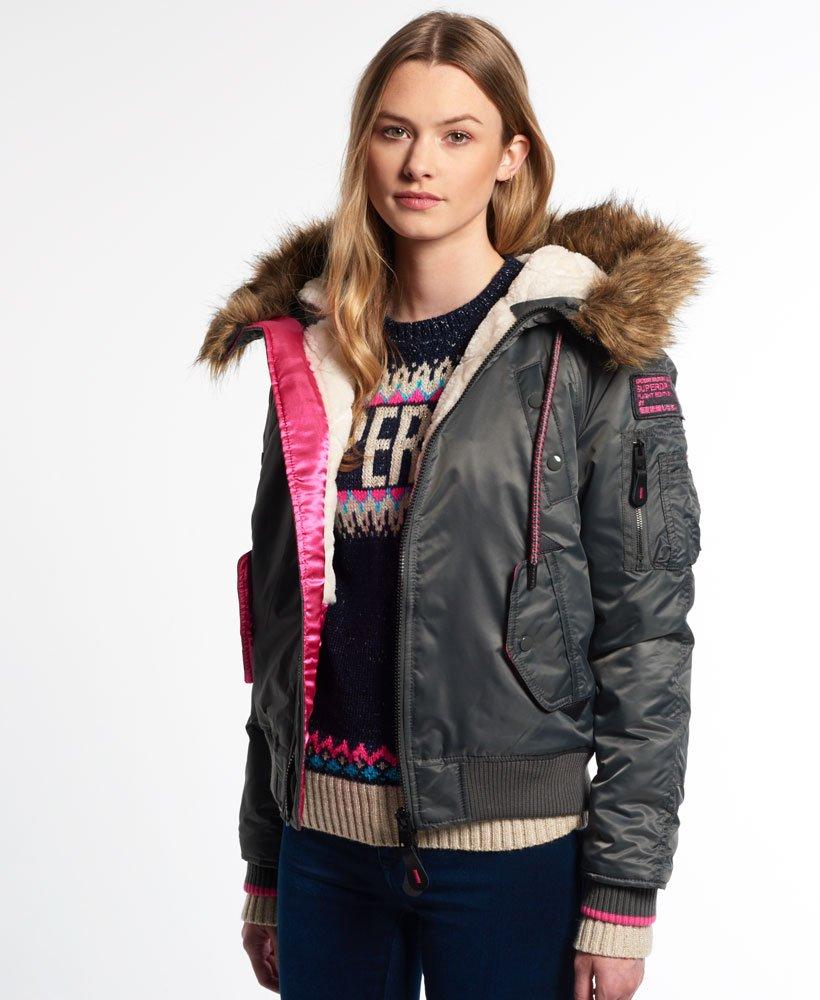 Jacketsamp; Winter Jacket Superdry Women's Sd Coats Bomber 3 vwm8ON0n