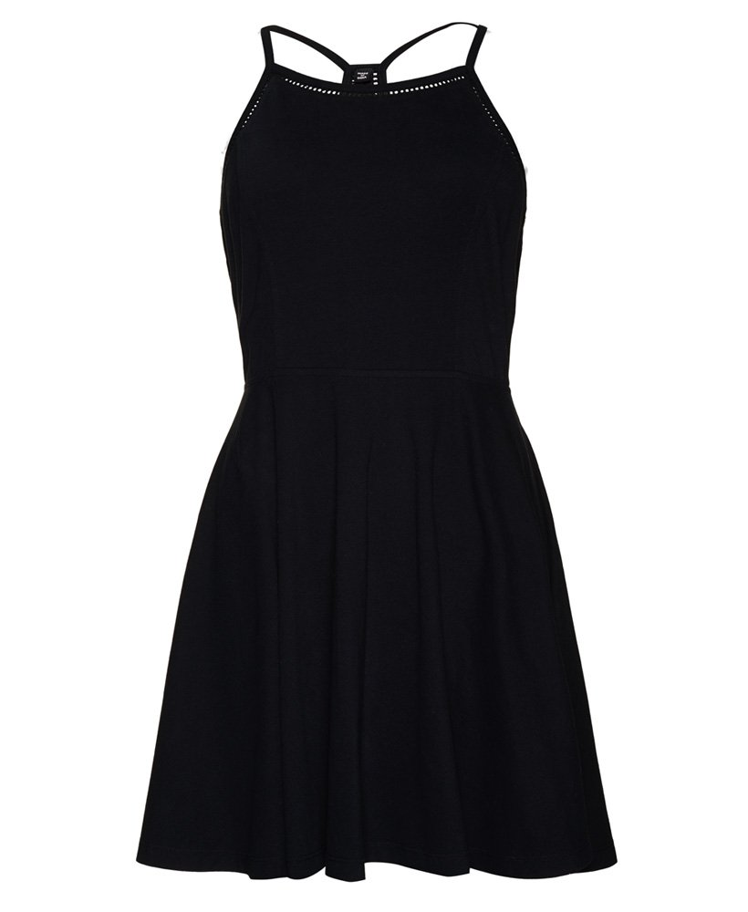 Superdry Cali Dream klänning med spetskant Tjejer Klänningar