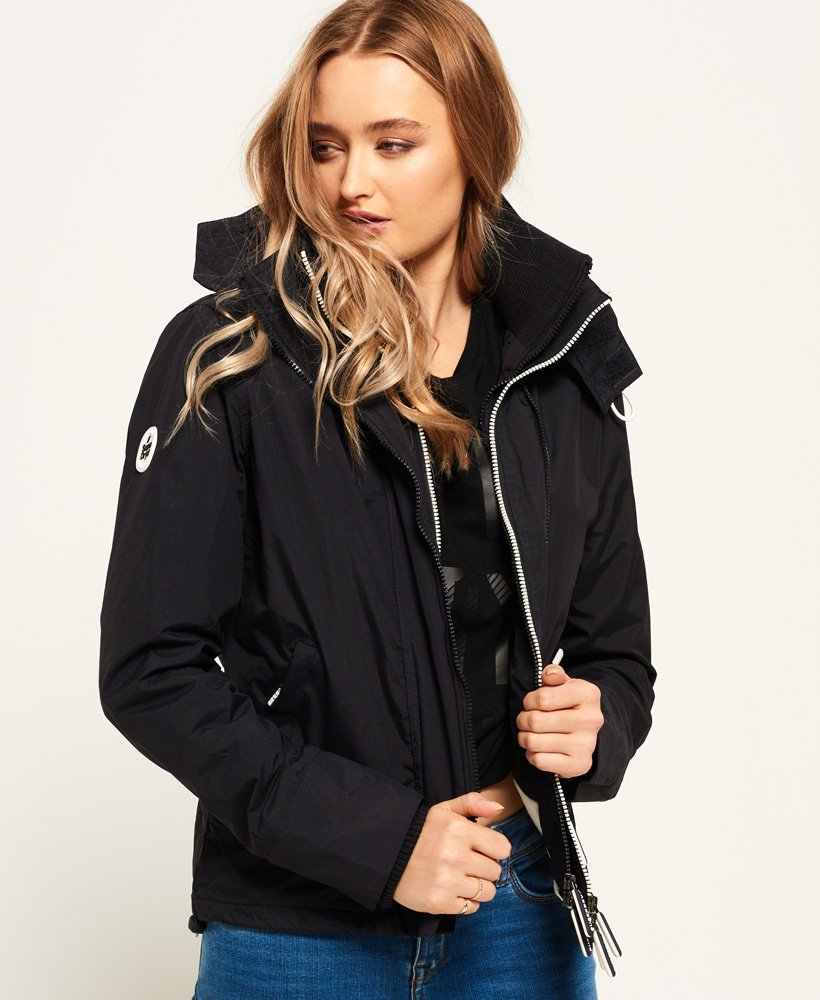 Veste Windcheater Pop À Capuche Superdry Sd Zip Arctic 0nx8qH