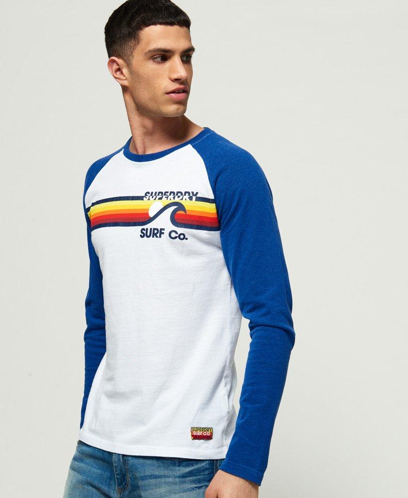 Superdry Surf Co Stripe Raglan-T-skjorte