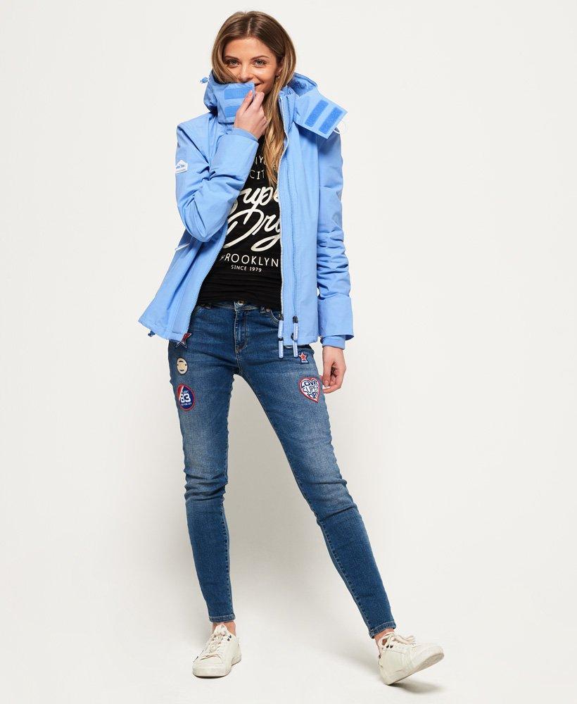 Funktionel Prism SD Windcheater jakke med lynlås og hætte