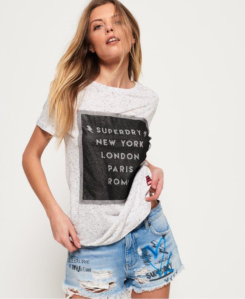 Superdry Mesh Long Line T-shirt