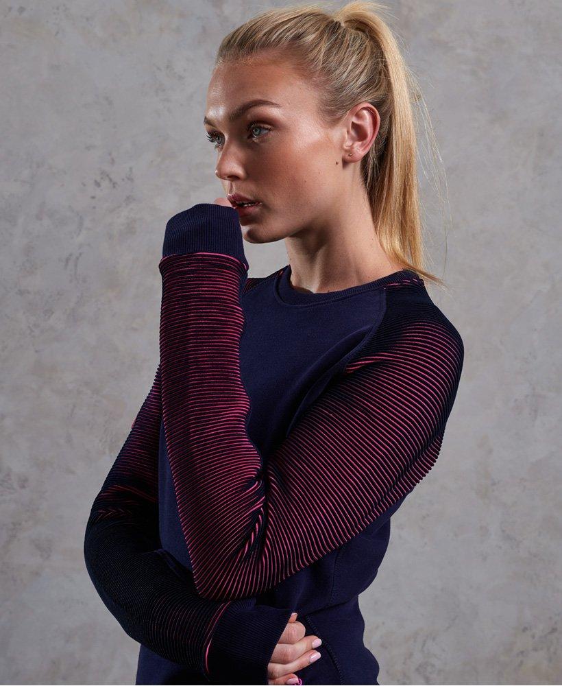 Superdry Sweat shirt col rond Flex pour Femme