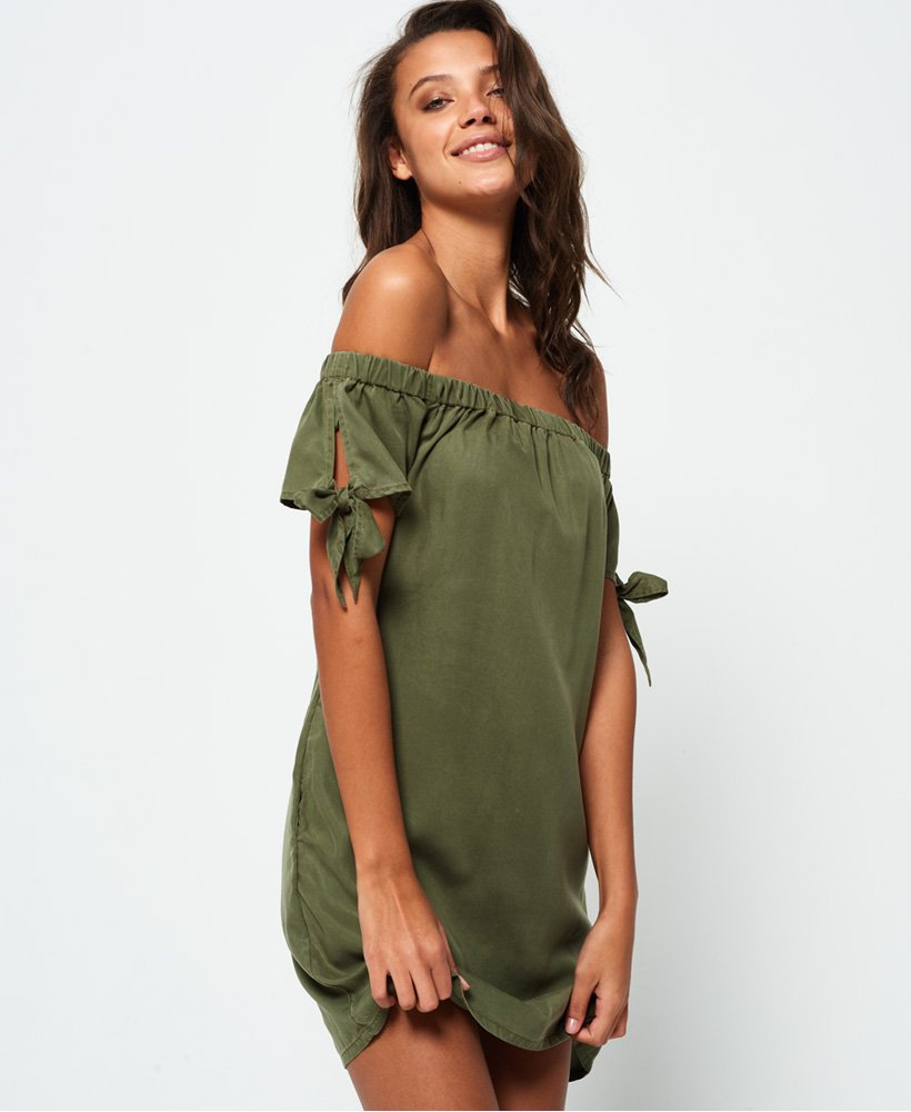 Superdry Alexia Off Shoulder kjole