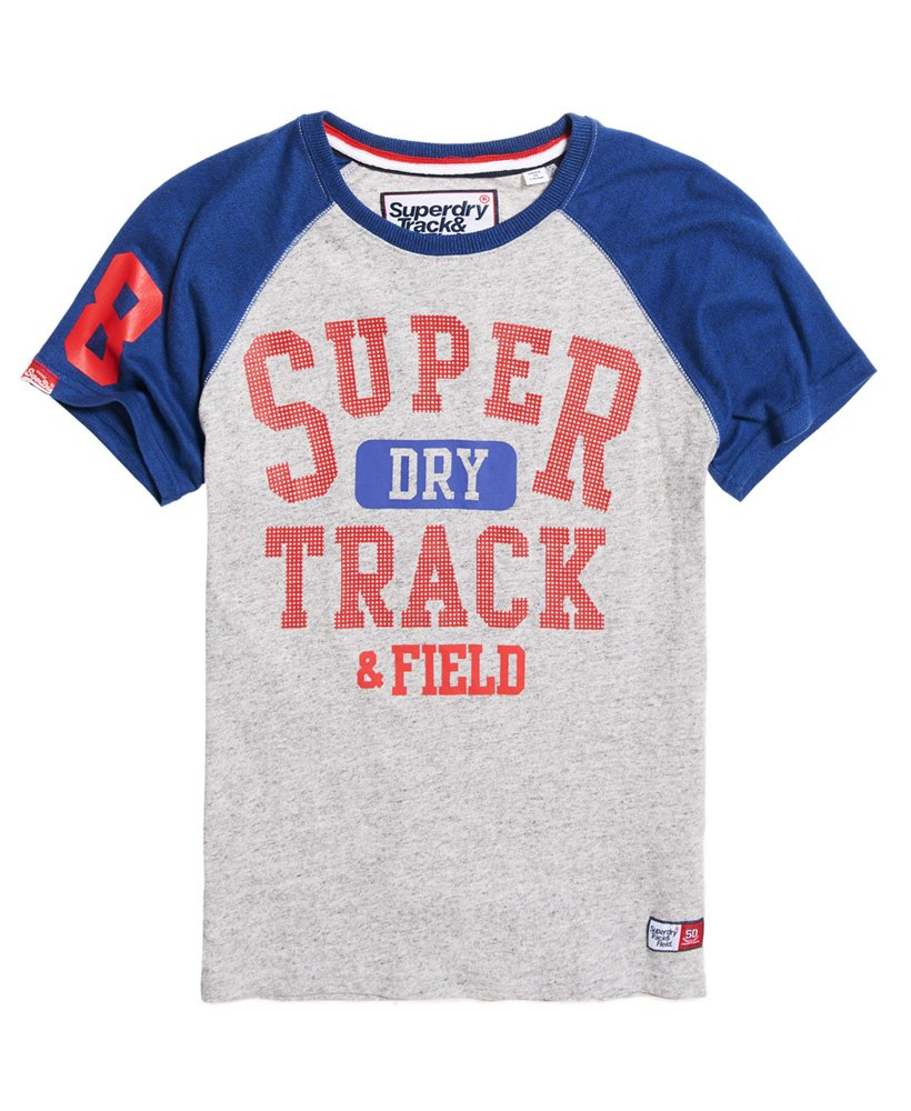 Superdry Trackster Baseball T-Shirt