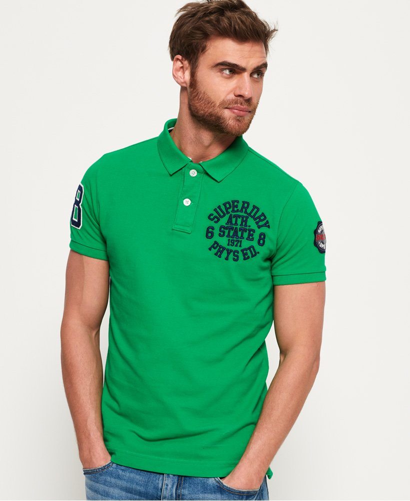 Superdry Classic Super State Polo Shirt thumbnail 1