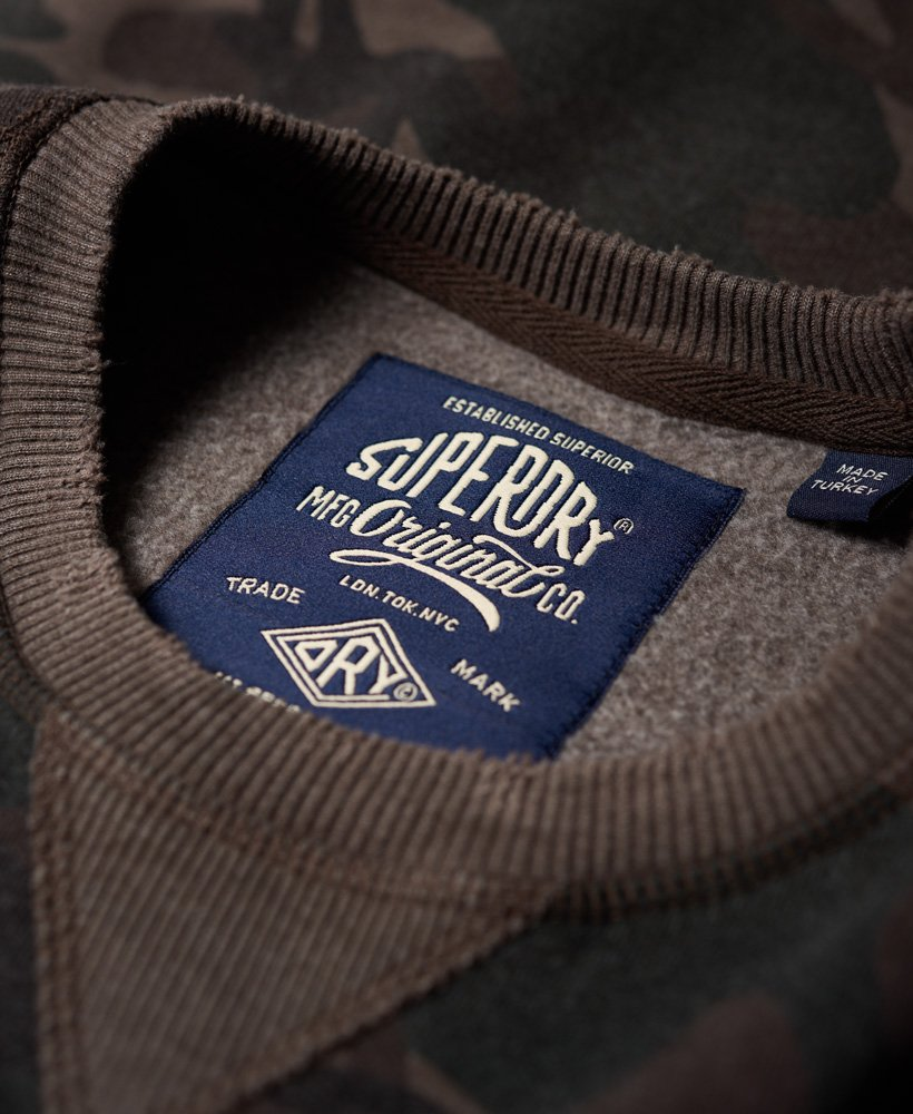 Superdry Sweat shirt ras du cou World Tour pour Homme