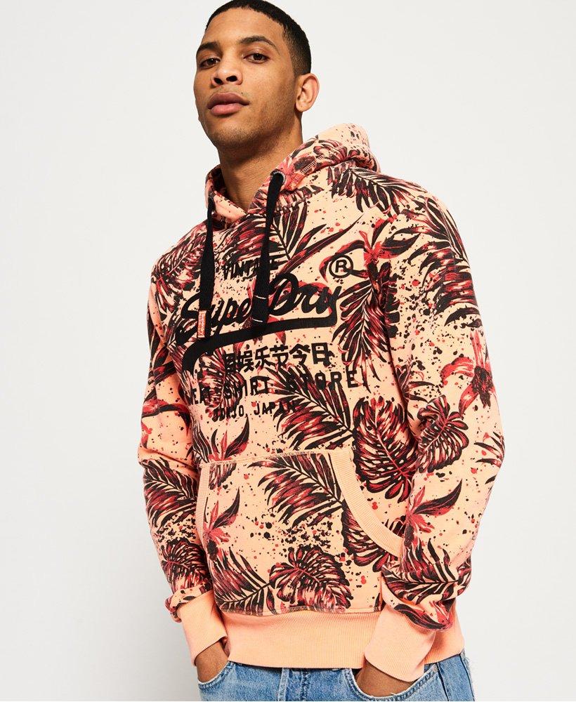 Superdry Sweat Shirt Store Hoodie mit durchgehendem Print