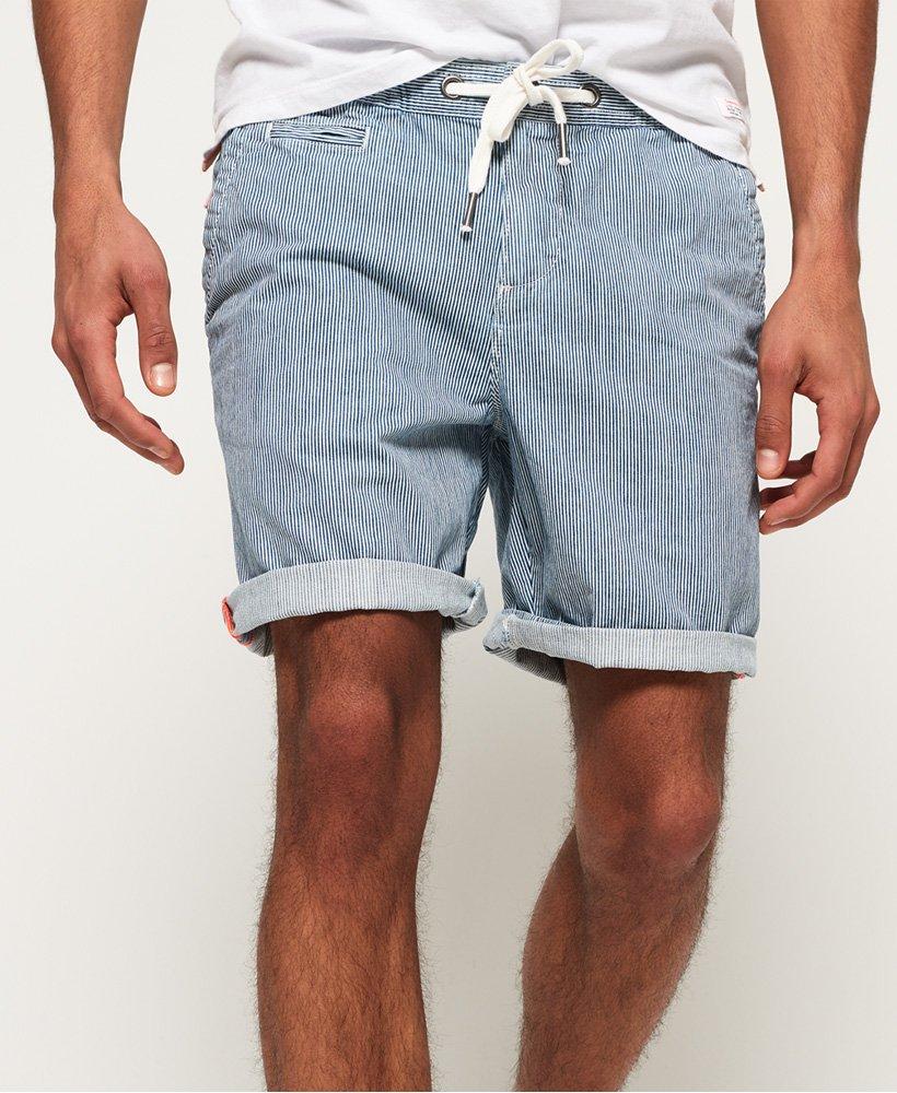 neue Liste verschiedene Farben auf großhandel Mens - Sunscorched Shorts in Denim Deck Blue Stripe | Superdry