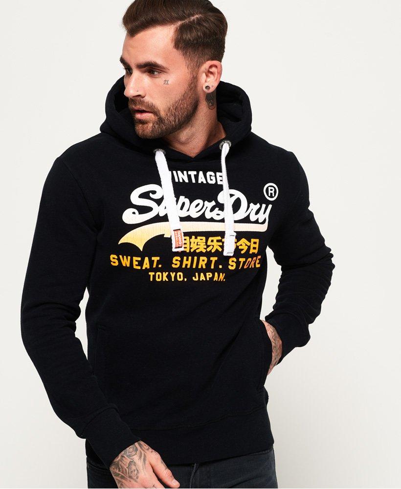 Superdry Sweat Shirt Store Fade Hoodie Herren Hoodies