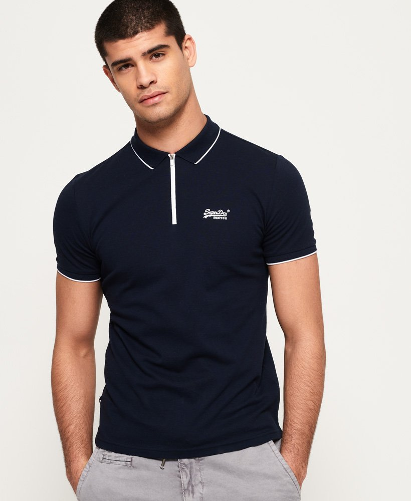 Superdry City Sport Zip Polohemd
