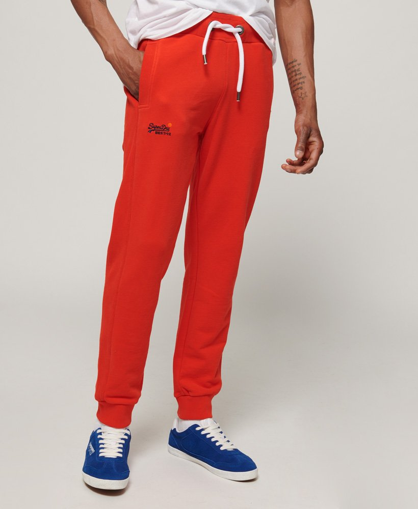 Superdry Pantalon de survêtement slim Lite Orange Label