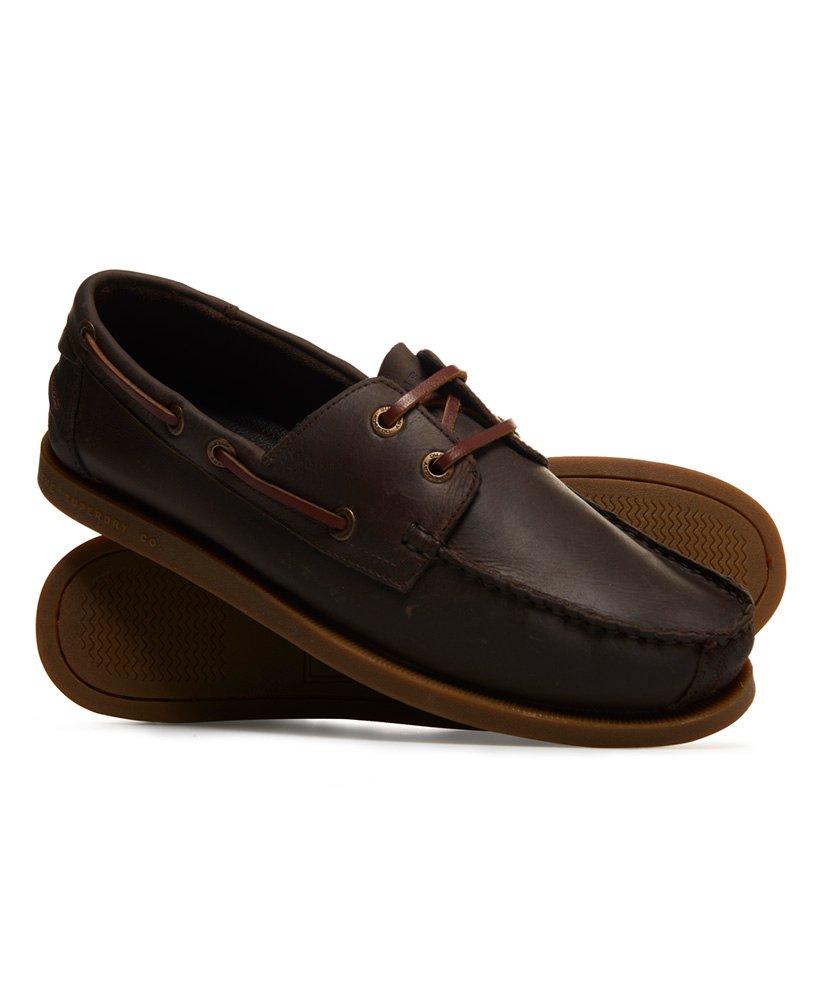Superdry Chaussures bateau en cuir thumbnail 1
