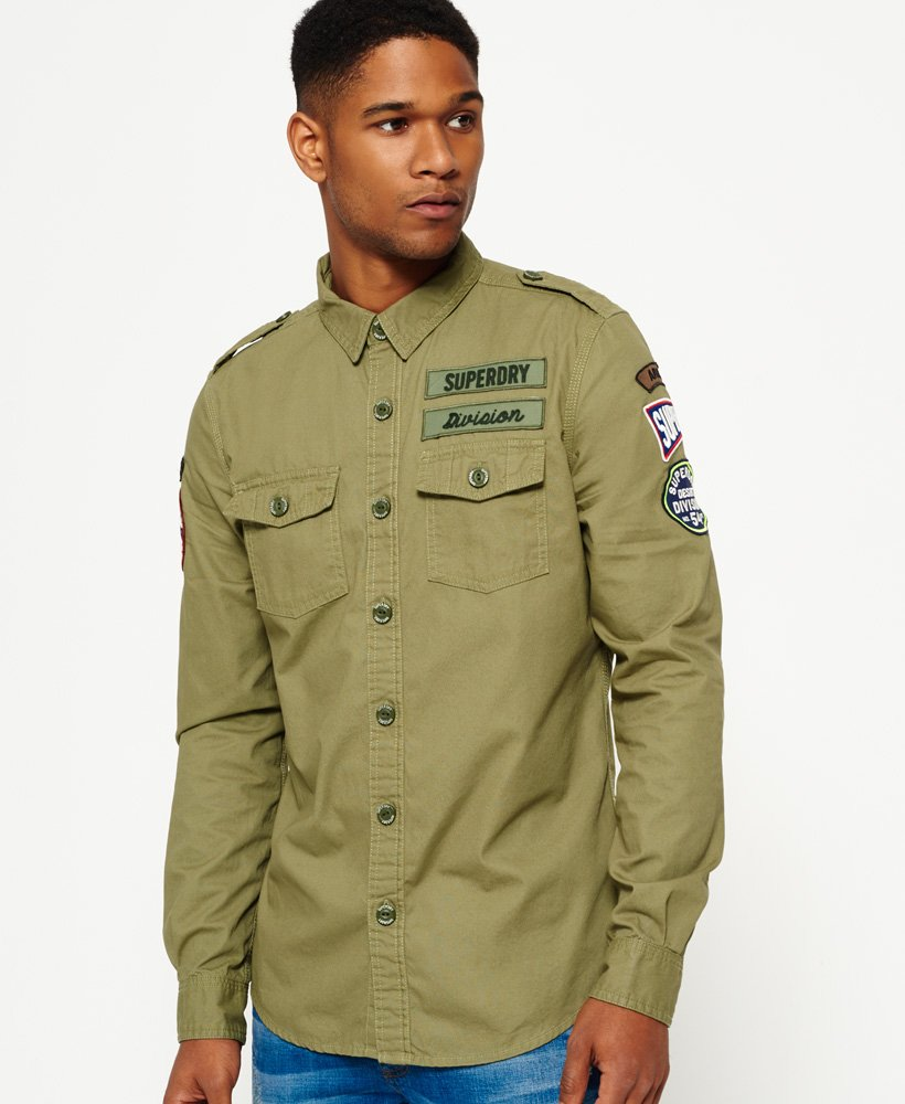 Superdry Army Corps Lite Langarmhemd