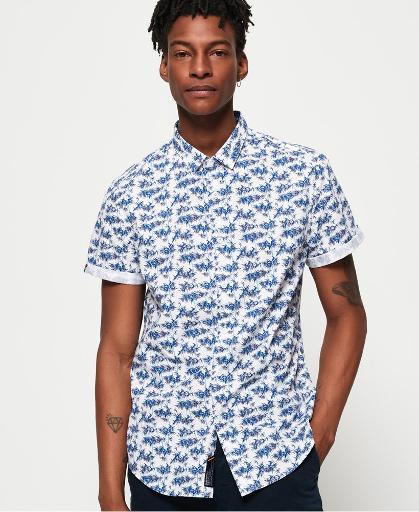 Superdry Poolside Short Sleeve Shirt thumbnail 1
