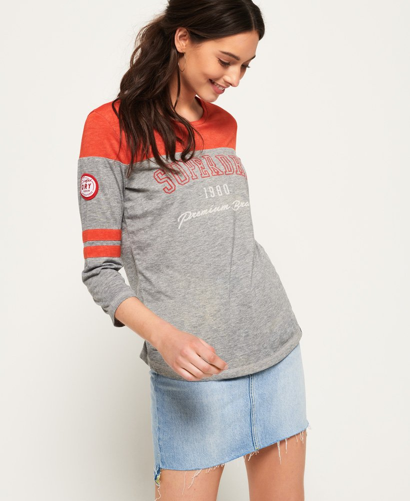 Superdry Low Tide Baseball Top thumbnail 1