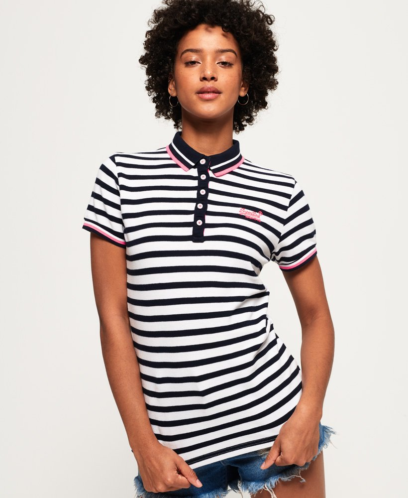 Superdry - Polo rayé Pacific - Tops pour