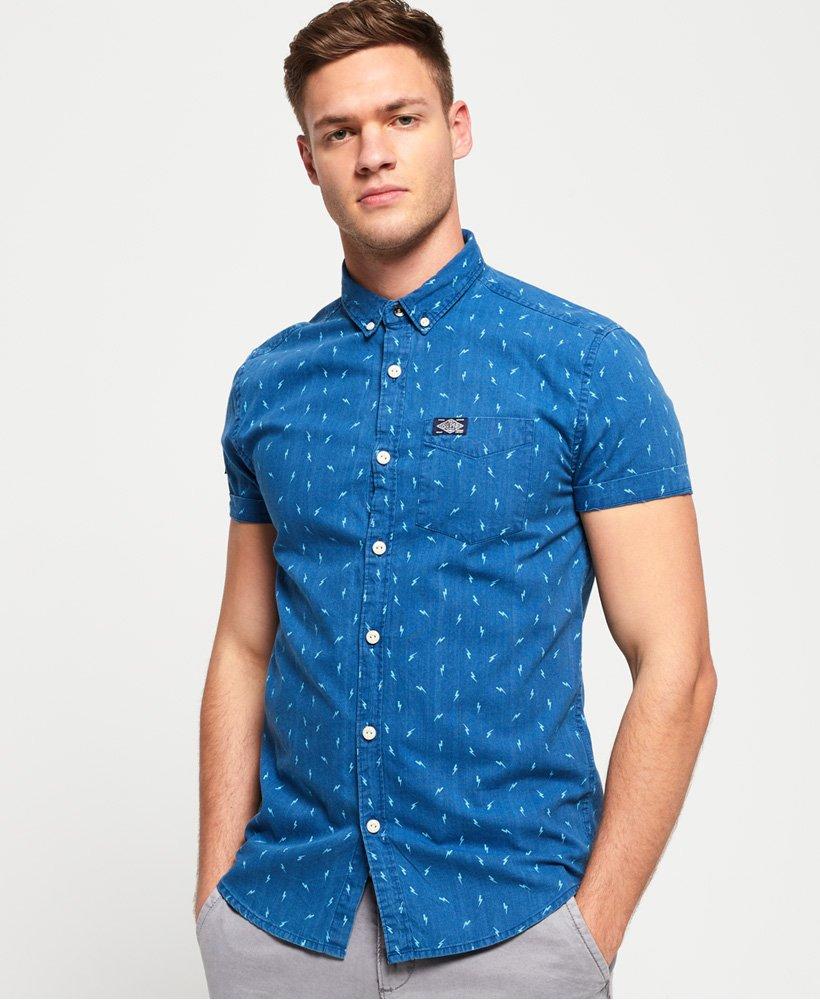 Superdry Homestead Loom Short Sleeve Shirt thumbnail 1
